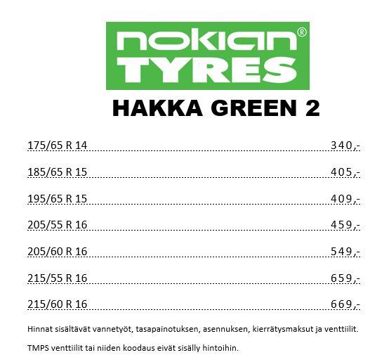 Nokian Hakka Green 2